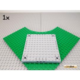 LEGO® 1Stk Grundplatte / Platte mit Pin-Löcher 12x12 neu-hellgrau 47976