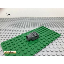 LEGO® Technic 5Stk 2x2 Rotationsgelenk Verbinder Dunkel Grau, Dark Gray 48169