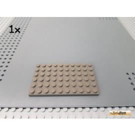 LEGO® 1Stk Platte Basic 6x10 alt-dunkelgrau 3033