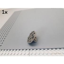 LEGO® 1Stk Konsole / Schüssel / Halterung 4x4 / 1x2 rund alt-dunkelgrau 30209