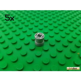 LEGO® 5Stk Felge ohne Reifen hellgrau 74867