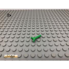 LEGO® 2Stk Ast Zweig Hellgrün, light green  10