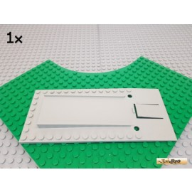 LEGO® 1Stk Garagen-Platte / Platte / Grundplatte 8x18 alt-hellgrau 820