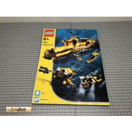 LEGO® 4888 Bauanleitung NO BRICKS!!!! Ozean Odyssey