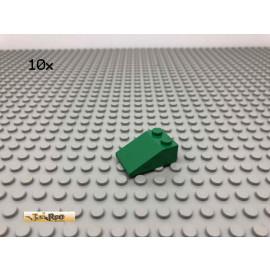 LEGO® 10Stk 2x3 33° Schrägstein Dachstein Grün, Green 3298 13