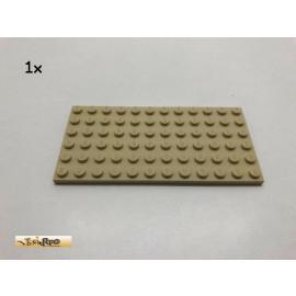 LEGO® 1Stk 6x12 Bauplatte Basic Brick Beige, Tan 3028 bp