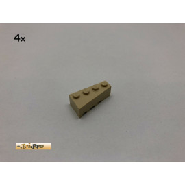 LEGO® 4Stk 2x4x1 Flügelstein rechts Basic Brick Beige, Tan 41767 7