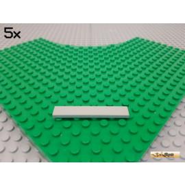 LEGO® 5Stk Fliese / Kachel 1x6 Basic alt-hellgrau 6636