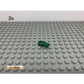 LEGO® 2Stk Technic Verbinder Gelenk Grün, Green 32126 190