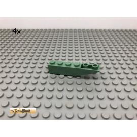 LEGO® 4Stk 1x6 Basic Stein Abgerundet Sandgrün, Sandgreen 3942 43