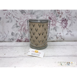 Clayre & Eef Windlicht Teelicht Tischdekoration Kerzenhalter 6GL2098