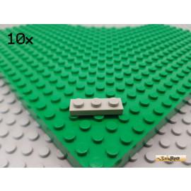 LEGO® 10Stk Platte Basic 1x3 alt-hellgrau 3623