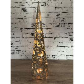 Lampe Nachtlicht Stehlampe weihnachtlich Weihnachtsdekoration mittel groß