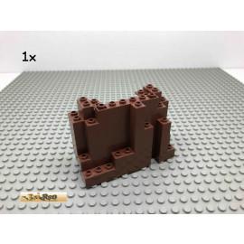 LEGO® 1Stk Fels Ritter Brick Rotbraun, Reddish Brown 6082 1
