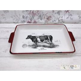 Clayre & Eef Schale Tablett Serviertablett Kuh CSAPSC
