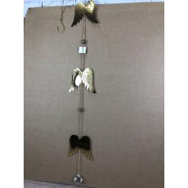 Gilde Girlande Flügel Engel Schutzengel weihnachtlich Gold
