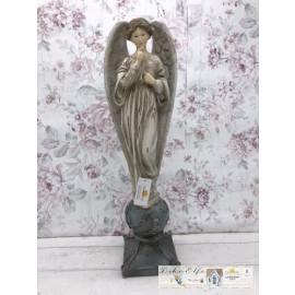 Clayre & Eef Engel Schutzengel groß Shabby Vintage Figur Dekoration 6PR2415