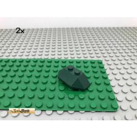 LEGO® 2Stk 2x4 Keilstein Schrägstein Dunkelgrün, Dark Green 47759 58