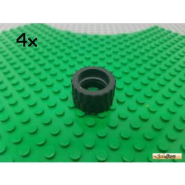 LEGO® 4Stk Reifen / Gummi ohne Felge 30285