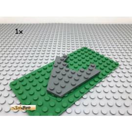 LEGO® 1Stk 8x8 Platte Flügelplatte Dunkel Grau, Dark Gray 6104