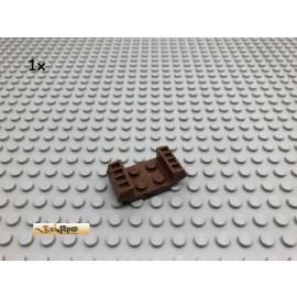 LEGO® 1Stk 2x2 Platten modifiziert mit Rille Brick Braun, Brown 41862 89