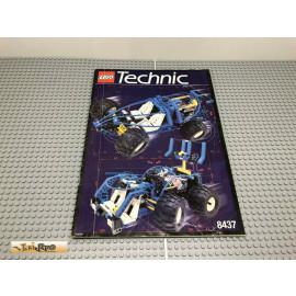LEGO® 8437 Bauanleitung NO BRICKS!!!! Technic