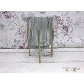 Clayre & Eef  Teelichthalter Windlicht Tischdekoration 6GL2443