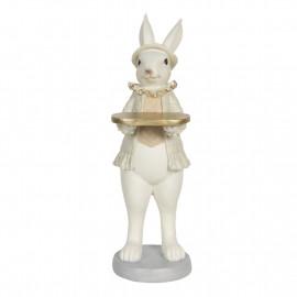 Clayre & Eef Osterhase Kaninchen modern Osterdekoration Statue Figur 6PR3171