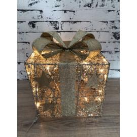 Lampe Nachtlicht Geschenk Packerl weihnachtlich Weihnachtsdekoration mittel