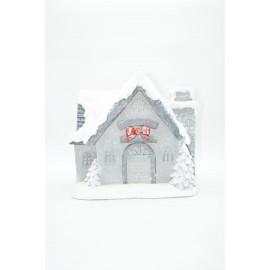 Weihnachtsdekoration weihnachtliches Haus Dekoraton Skulptur