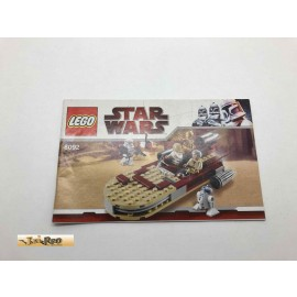 Lego 8092 Bauanleitung NO BRICKS!!!! Star Wars