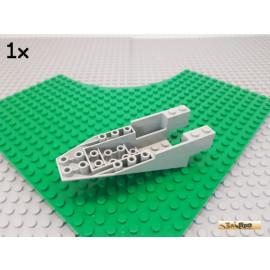 LEGO® 1Stk Cockpit / Keilstein negativ / Rumpf 11x4x2 2/3 alt-hellgrau 6058