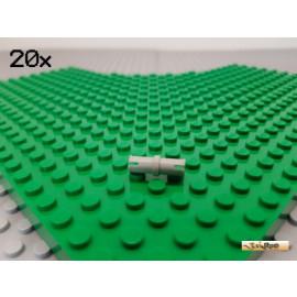 LEGO® 20Stk Technic Pin Basic / Verbinder alt-hellgrau 3673