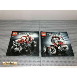 LEGO® 8261 Bauanleitung NO BRICKS!!!! Technic
