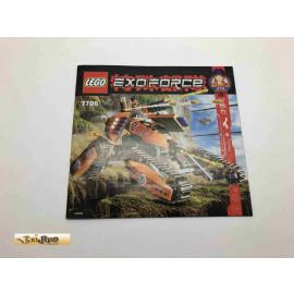 Lego 7706 Bauanleitung NO BRICKS!!!! Exoforce