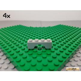 LEGO® 4Stk Bogen / Bogenstein / Fenster 1x4x1 alt-hellgrau 3659