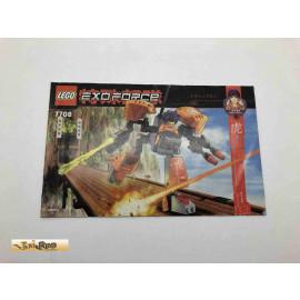Lego 7708 Bauanleitung NO BRICKS!!!! Exoforce