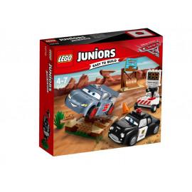 LEGO® Juniors Cars™ Rasante Trainingsrunden in der Teufelsschanze