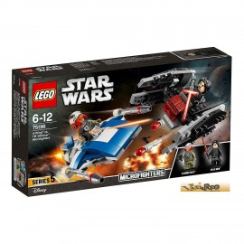 LEGO® Star Wars™ A-wing™ vs. TIE Silencer™ Microfighters